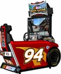 Nascar Team Racing Sit Down Driving Arcade, Global VR Nascar Team Racing 42
