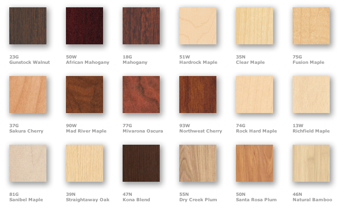 Cherry Masters - 8 Liners - Wood Finishes