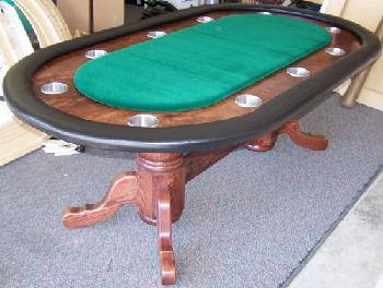 Design Your Own Custom Poker Table (Custom Tables Are By Phone Order Only)